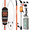 FunWater Stand Up Inflatable Ultra-Light Paddle Board