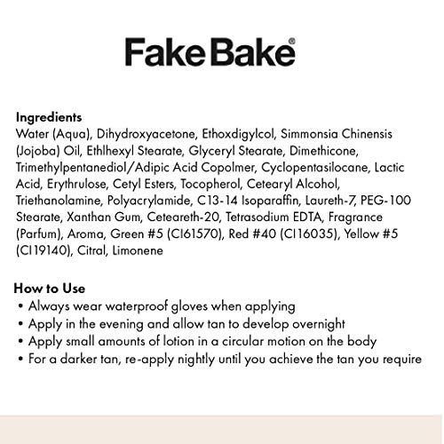 Fake Bake Fair Gradual Self-Tanning Lotion