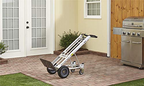 COSCO 12326ASB1E 3-in-1 Series Assisted Cart with Flat-Free Wheels...