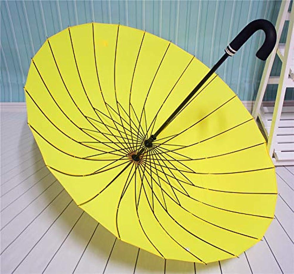 瞑想的ホース大胆なKomori 傘 長傘 レディース傘 高強度24本骨 紳士傘 雨に濡れると花が浮き出る 全18色 丈夫 耐強風 テフロン製 超撥水 梅雨対策 豪雨対策