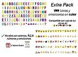 Letras para caja de luz tamaño A3, A4 o A5