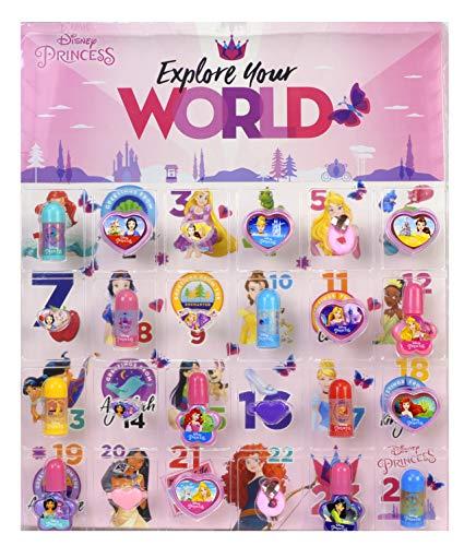 DISNEY Princess Advent Calendar Set de Maquillaje