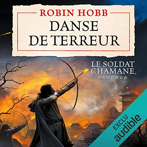 Danse de terreur audiobook cover art