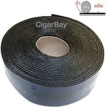 EWT 65FT x 3IN Asphalt Tarmac Joint Crack Sealer Fabric Self-Adhesive Patch Bitumen Tape, Parking Lot, Roof (618)