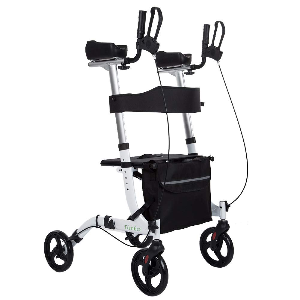 ELENKER Rollator Mobility Backrest Armrests