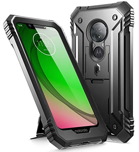 Moto G7 Optimo Protective Kickstand Case by Poetic