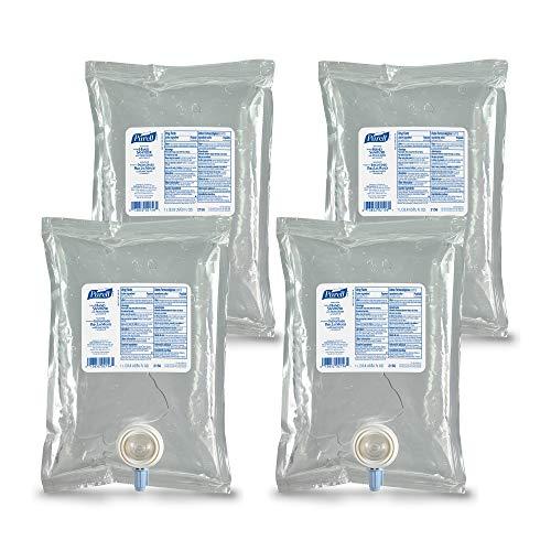 PURELL NXT Advanced Hand Sanitizer Gel, 1000 mL Hand Sanitizer Gel Refill for PURELL NXT Push-Style Space Saver Dispenser (Pack of 4) - 2156-04