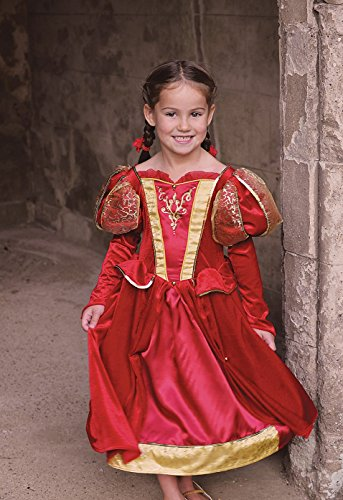 Déguisement Reine Médiévale 6-8 ans Travis