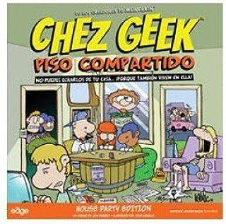 Chez Geek: Piso compartido. Cartas: Amazon.es: Juguetes y juegos
