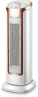 ZHHL Calentador de ventilador, radiador de ahorro de energía del hogar - Tecnología de calor de cerámica de PTC con 3 configuraciones de calor, protección contra sobrecalentamiento