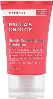 Paula's Choice Defense Nachtcrème - Lichte Lotion Hydrateert en Verzacht met Antioxidanten - Gaat Huidveroudering tegen - ...