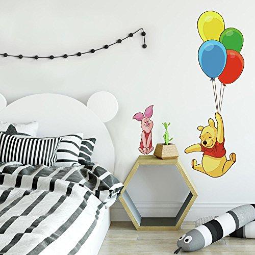 Sticker Géant Repositionnable Disney Winnie l'ourson - Pooh et Porcinet
