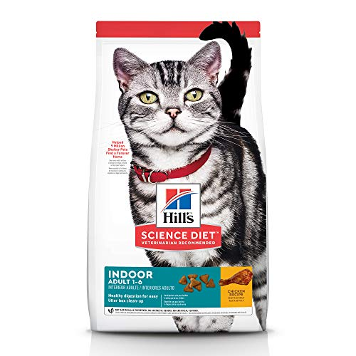 Hill's Science Diet Dry Cat Food, Adult, Indoor, Chicken Recipe