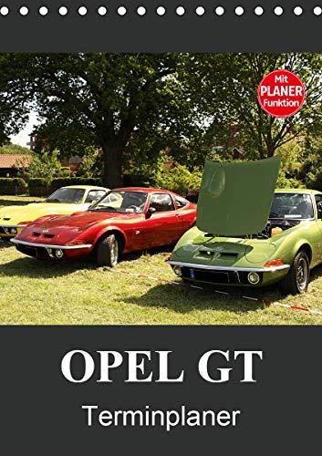 Opel GT Terminplaner (Tischkalender 2021 DIN A5 hoch)
