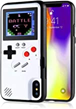 Gameboy Case for iPhone X/XS, Chu9 Retro 3D  Shockproof  Gameboy Cover Case with 36..