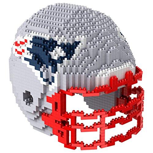 FOCO PZNF3DHLMNP Building Blocks-Helmet New England Patriots 3D Brxlz – Helm, Teamfarbe, Einheitsgröße