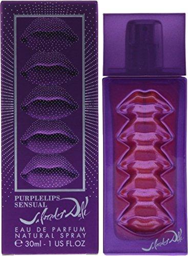 Salvador Dali Purple Lips Sensual mujer Eau De Parfum Spray de 30ml con bolsa de regalo