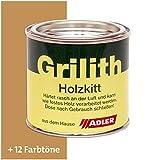 ADLER Grilith Holzkitt Spachtelmasse Kitt für Holz Möbel Basteln Reparieren Eiche 200 ml