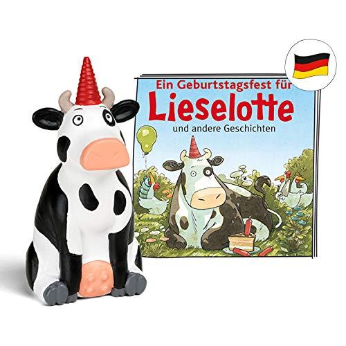 tonies Hörfiguren für Toniebox - Lieselotte - EIN Geburtstagsfest für Lieselotte und andere Geschichten - ca. 57 Min. - Ab 3 Jahre -DEUTSCH