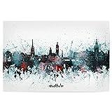 artboxONE Poster 120x80 cm Städte Stockholm Skyline
