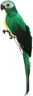 Perroquet Oiseau Ornement Faux Plumes Perroquet Oiseau RéAliste Perroquet Artificiel Simulation Plume Perroquet RéAliste F...