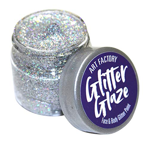 Art Factory Glitter Glaze - Argent (1 oz)