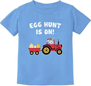 Easter Egg Hunt Gift for Tractor Loving Kids Toddler/Infant Kids T-Shirt