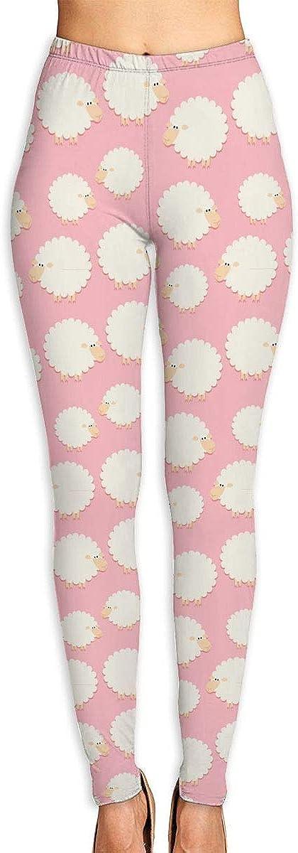 WJM SHOW Cute White Sheep Gym Super-cheap Sweatpants Leggings Inexpensive Pants Yoga