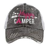Katidid Happy Camper Bambini Junior Trucker Cappello -  Nero -  Taglia unica