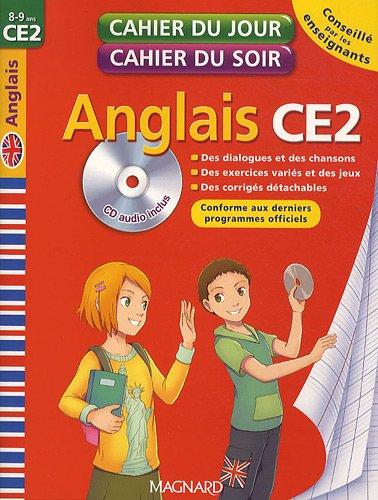 Cahier du jour Cahier du soir Anglais CE2 1CD audio