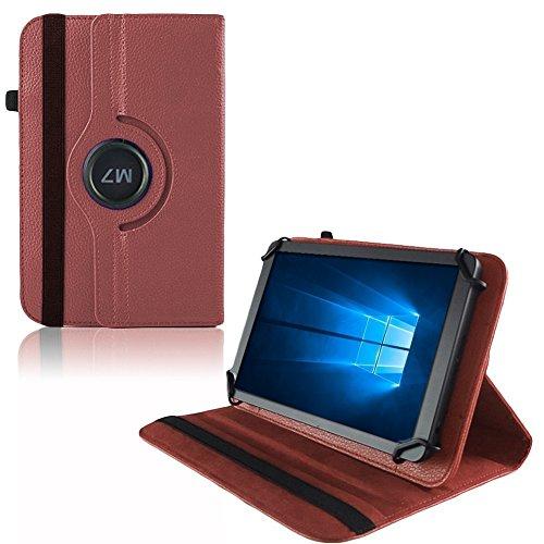 UC-Express Hülle für Verico Unipad 10.1 Tablet Tasche Schutzhülle Universal Case Cover Bag, Farben:Braun