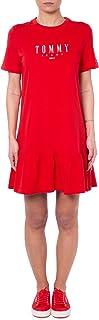 Tommy Hilfiger womens Logo Peplum Dress