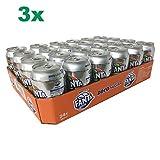 Fanta Orange Zero sugar im XXL-Paket (72x0,33l Dosen)