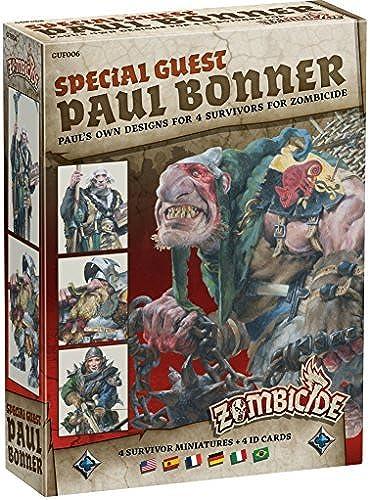 gran descuento Zombicide negro Plague - Paul Bonner Special Special Special Guest by Guillotine Games  servicio honesto
