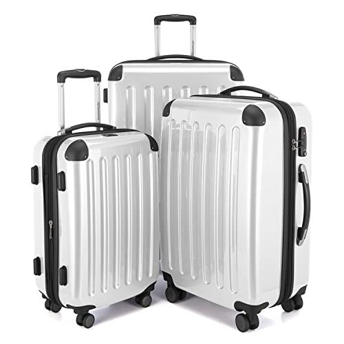 HAUPTSTADTKOFFER Luggages Sets Glossy Suitcase Sets Hardside Spinner  Trolley Expandable (20  13b680d70f