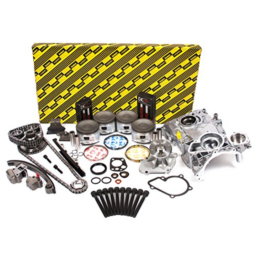 Evergreen OK3003M/2/2/2 Fits 91-94 Nissan 240SX 2.4L DOHC 16V KA24DE Master Overhaul Engine Rebuild Kit