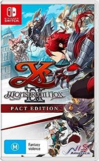 Ys IX: Monstrum Nox Pact Edition - Nintendo Switch (B08WYT7M2B)   Amazon price tracker / tracking, Amazon price history charts, Amazon price watches, Amazon price drop alerts