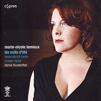 Berlioz: Les nuits d'été - Wagner: Wesendonck-Lieder - Mahler: Rückert-Lieder