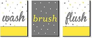 Best yellow bathroom decor Reviews