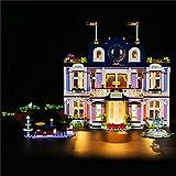 Juego de luces para Friends Heartlake City Grand Hotel modelo de bloques de construcción - Compatible con Lego 41684 (no incluye el modelo)