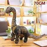 5pc New Simulation Dinosaur Plush Toys Cartoon Tyrannosaurus Cute Stuffed Toy Dolls for Kids Children Boys Birthday Gift Small Seismosaurus