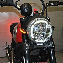 Ducati Scrambler Front Turn Signals - New Rage Cycles