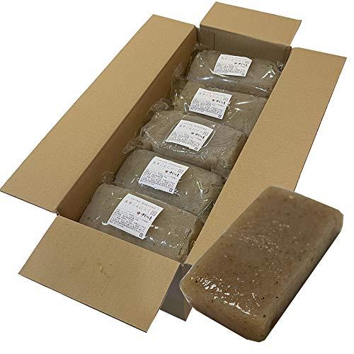 令和2年産 生芋こんにゃく (板) 450g×15個セット 業務用 手作り 味しみ抜群 セラミド含有