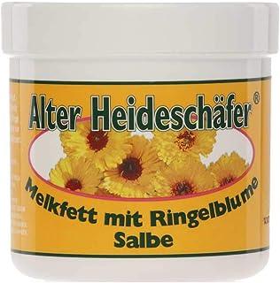 Alter Heideschäfer Melkfett mit Ringelblume Salbe Hautschutz Hautpflege, 250 ml
