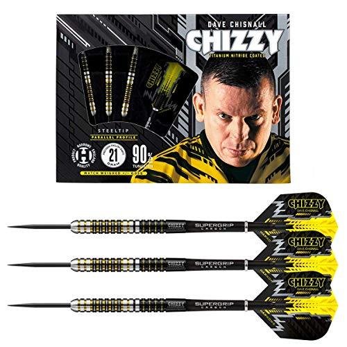 Harrows Steel Darts Dave Chisnall Chizzy 90% Tungsten Steeltip Dart Steeldart (21 gr)