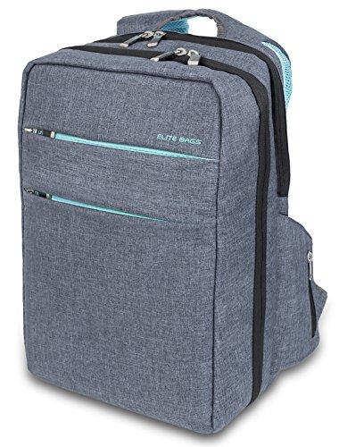 Mochila de asistencia domiciliaria biotono | Modelo CITY'S | Elite Bags | Medidas: 40 x 28 x 14 cm | Diseño práctico y moderno ⭐