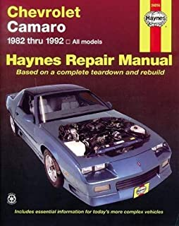 Chevrolet Camaro, 1982-1992 (Haynes Manuals) by Haynes, John Published by Haynes North America 1st (first) edition (1984) Paperback