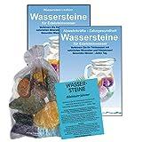 EDELSTEINE für WASSER GEHIRN & GEDÄCHTNIS 4-tlg SET. 300g WASSERSTEINE