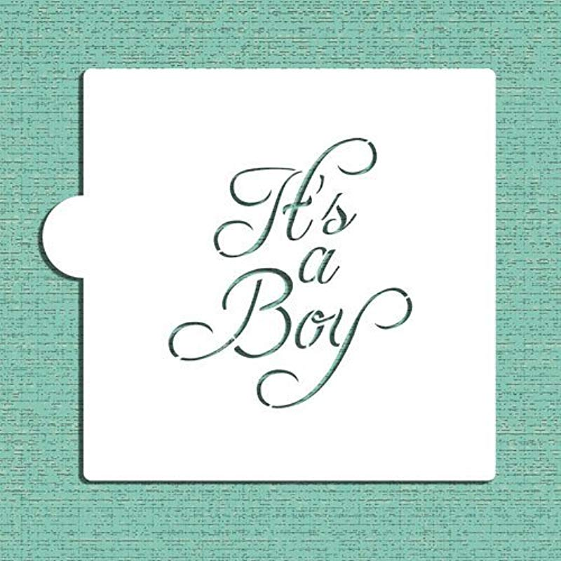 It S A Boy Cookie And Craft Stencil CM067 By Designer Stencils