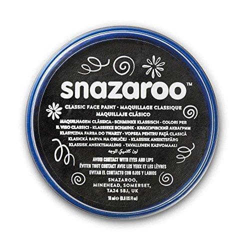 Cuves Snazaroo En Noir (18 Ml)